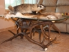 Badger and Elk Antler Table